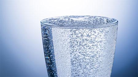 acqua frizzante in casa